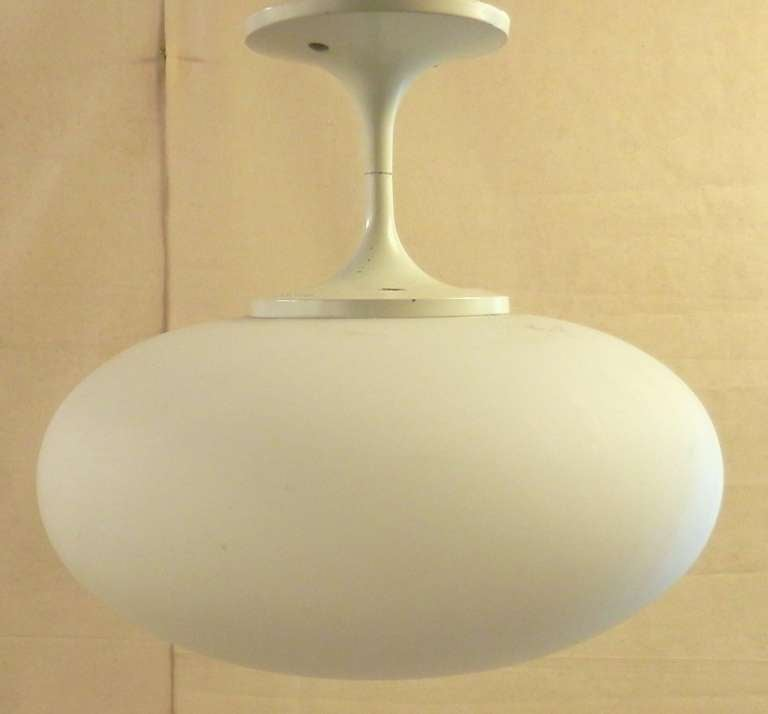 Mid Century Modern Tulip Style Ceiling Light By Lightcraft At 1stdibs