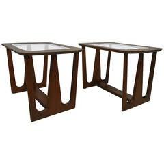 Pair of Vintage Modern Side Tables