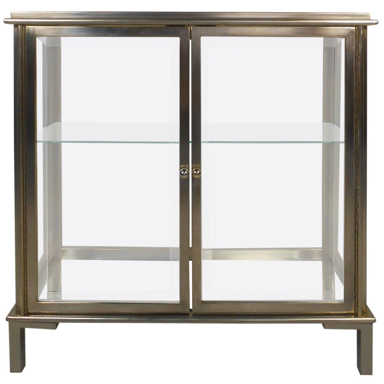 Midcentury Mastercraft Style Glass Display Cabinet