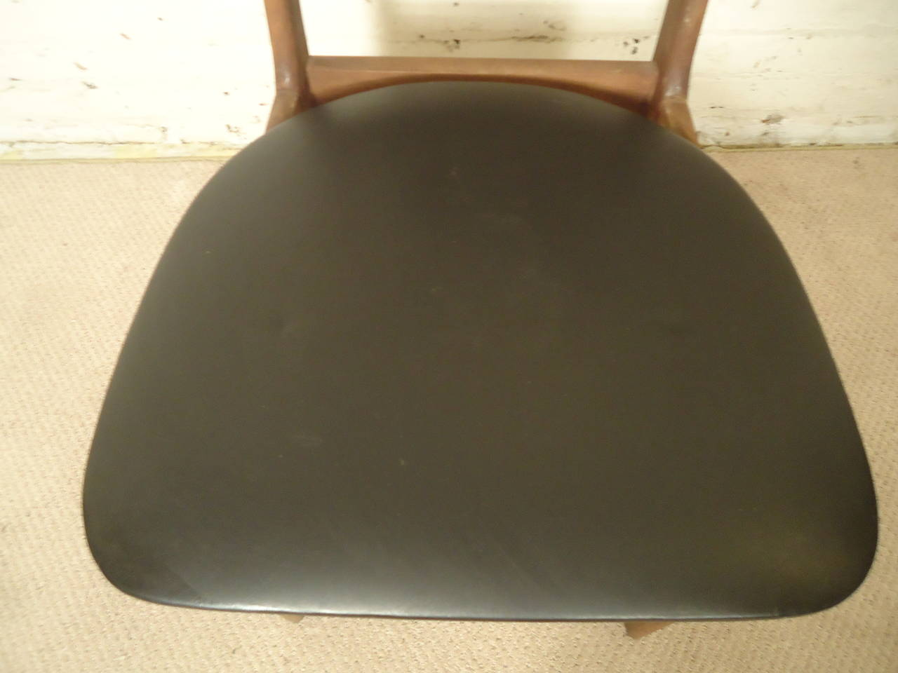 Four Midcentury High Back Chairs For Sale 2