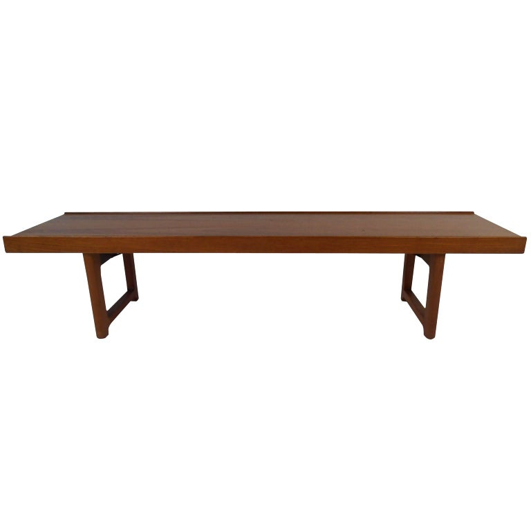 danish teak bench by bruksbo 1 - Teak Bench