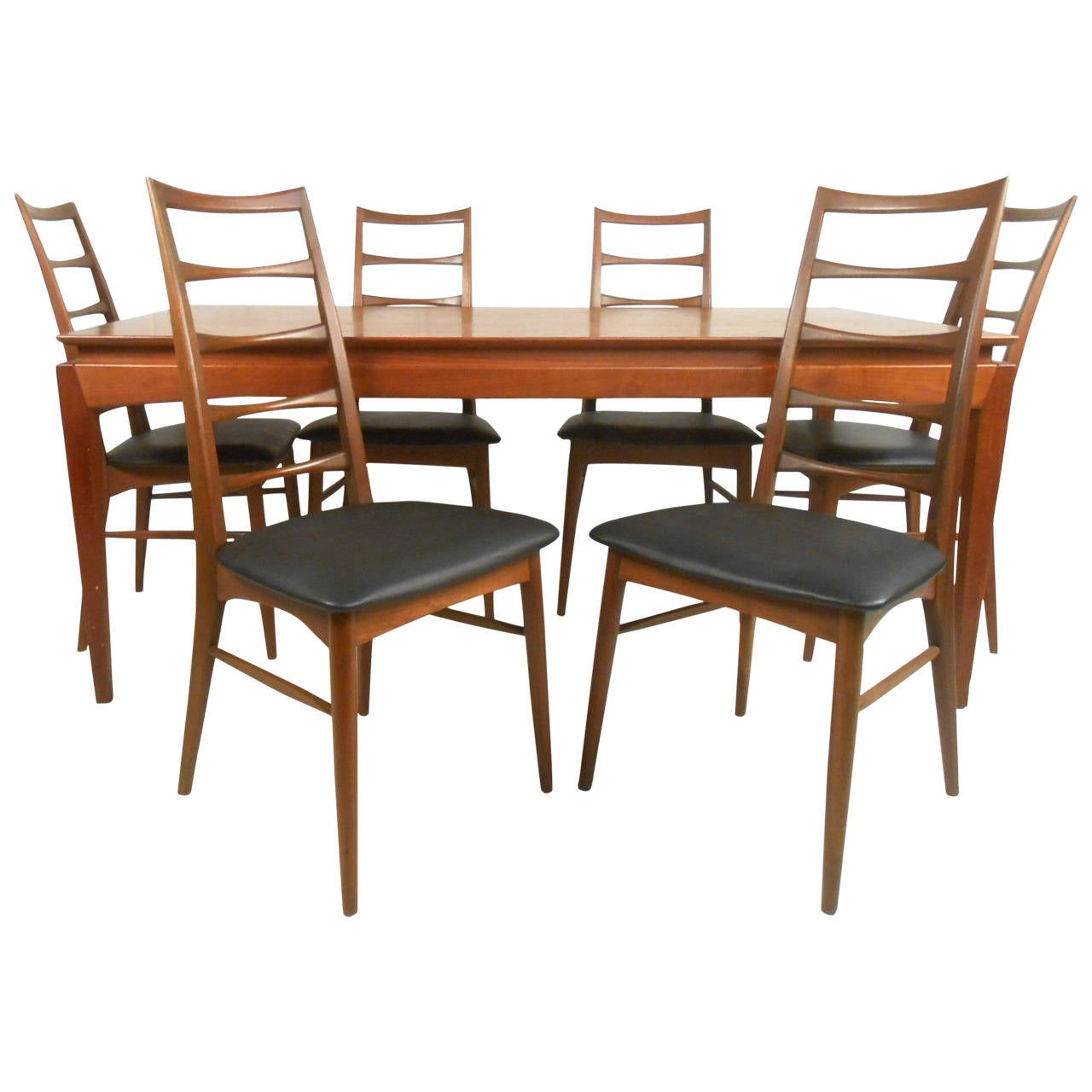 Mid century modern niels kofoed for raymor dining set at for Dining room tables kid friendly