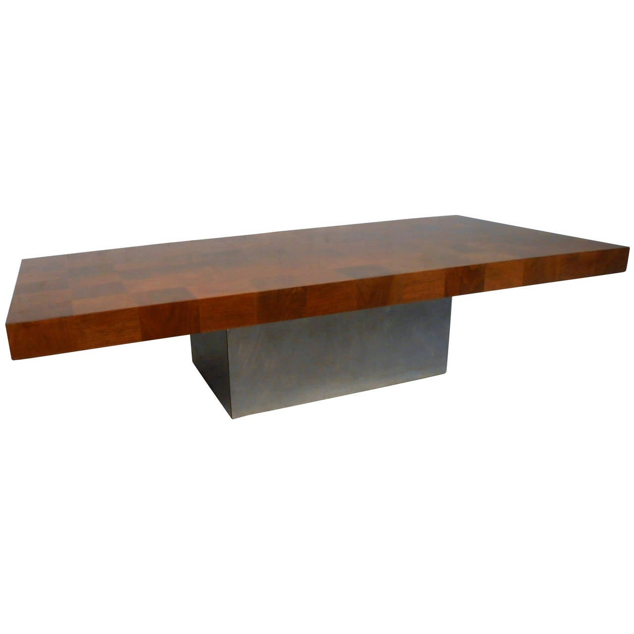 Milo Baughman Patchwork Coffee Table