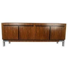 Vintage Modern Rosewood Credenza