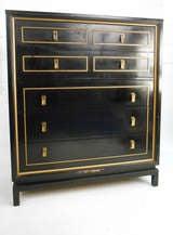 American of Martinsville Highboy Dresser With Mirror image 3