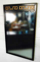 American of Martinsville Highboy Dresser With Mirror image 4
