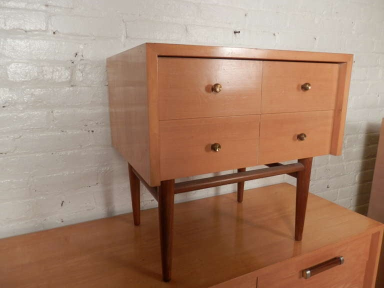 this rare bedroom set by american of martinsville is no longer