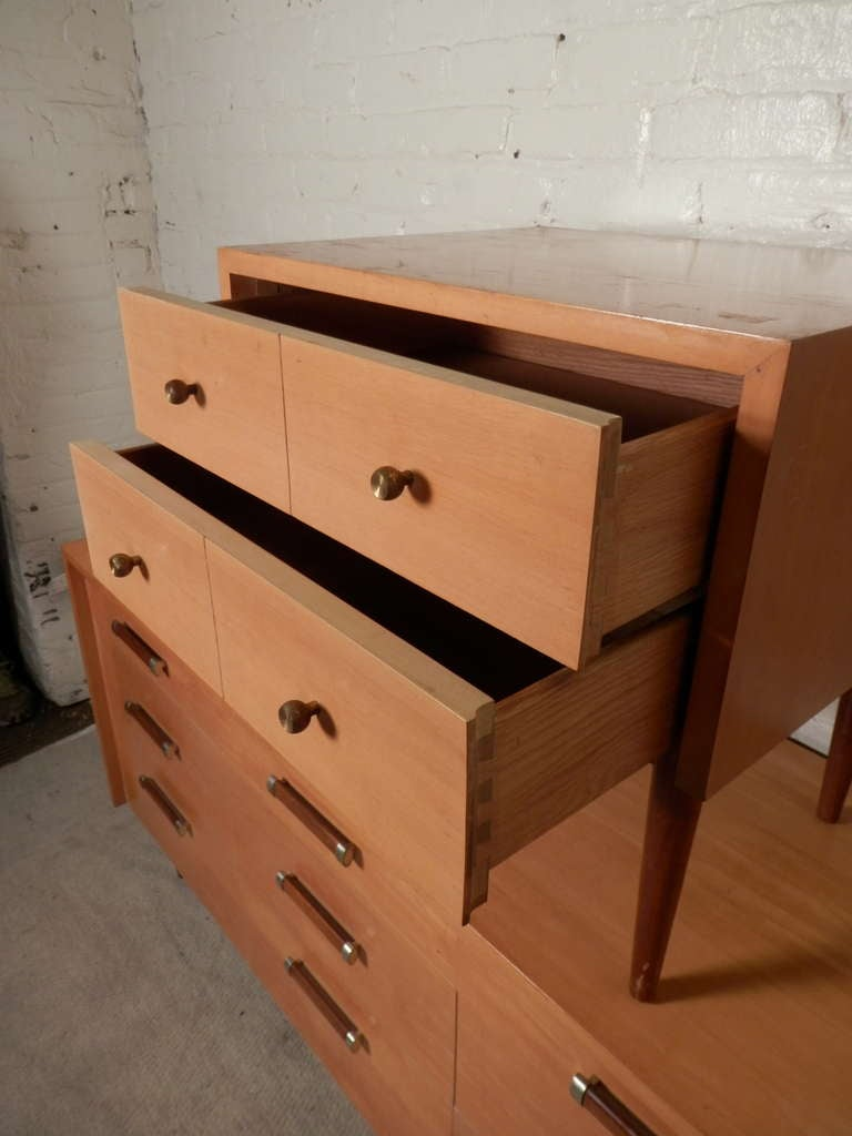 Rare bedroom set by american of martinsville at 1stdibs for Vintage american martinsville bedroom furniture