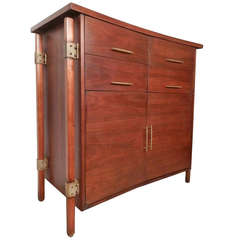 Harold M. Schwartz for Romweber Mid-Century Tall Chest