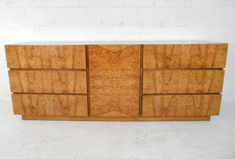 mid century burlwood bedroom set by lane furniture for sale at 1stdibs