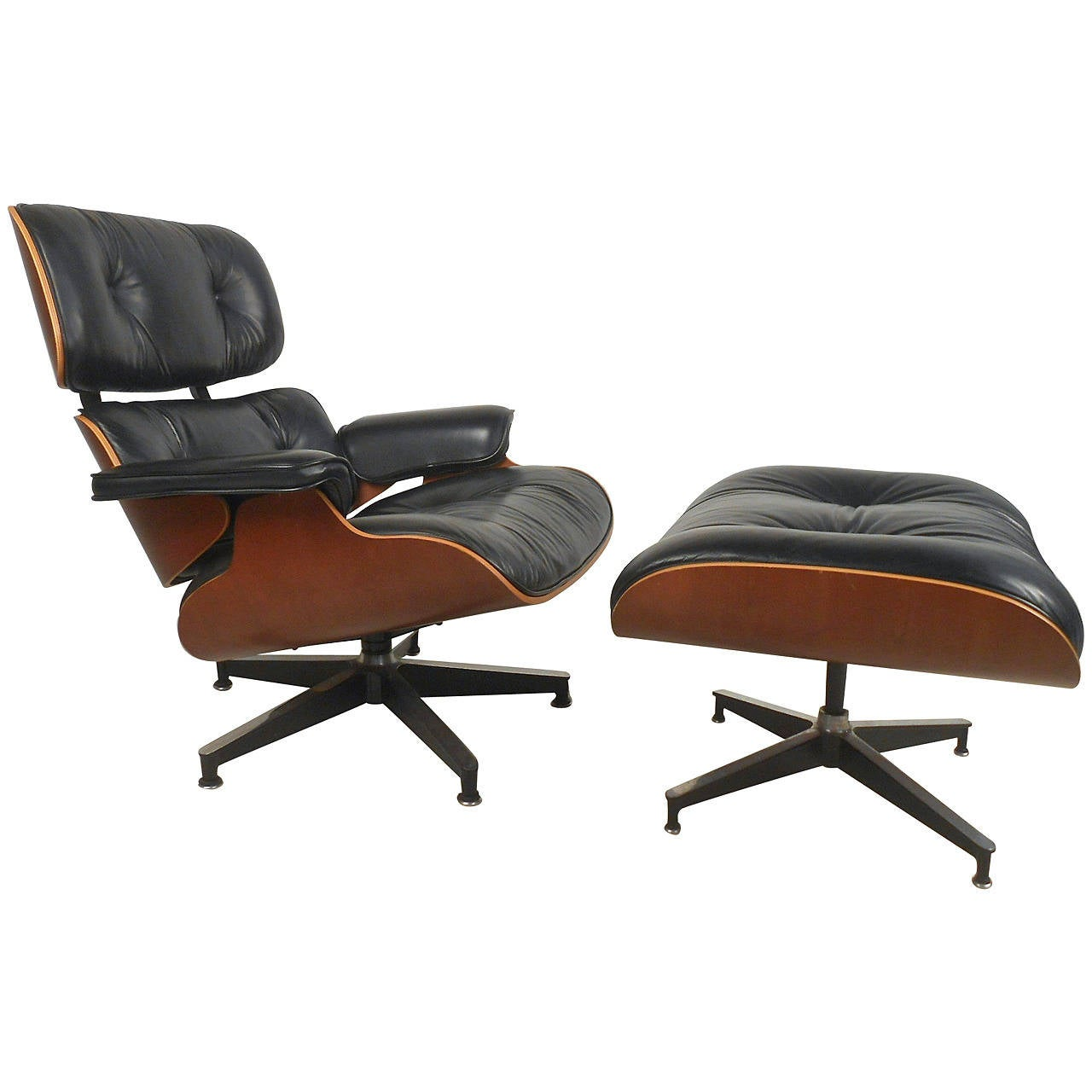 Herman miller 670 swivel lounge chair with ottoman at 1stdibs - Herman miller lounge chair and ottoman ...