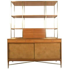 Paul McCobb Irwin Collection Sideboard With Display