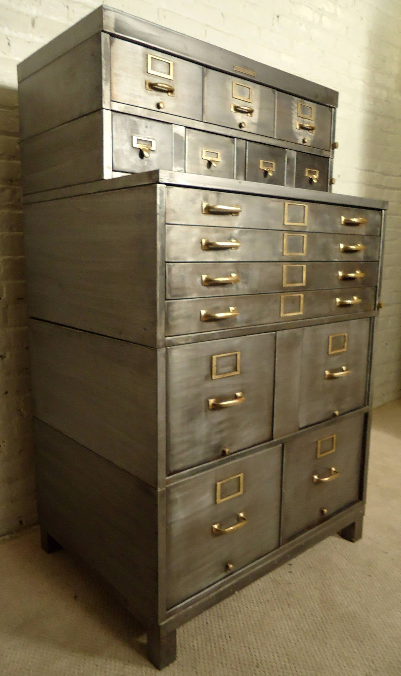 Five-Stack Industrial File Cabinet by Library Bureau SoleMakers at ...