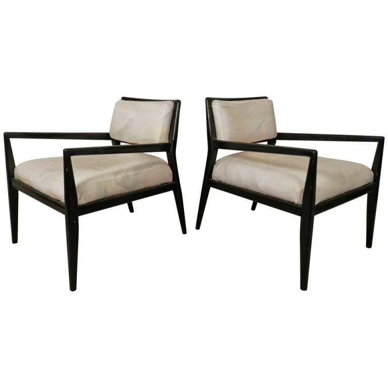 Superb Widdicomb Style Mid-Century Modern Armchairs