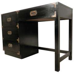 Mid-Century Modern Petite Campaign Desk