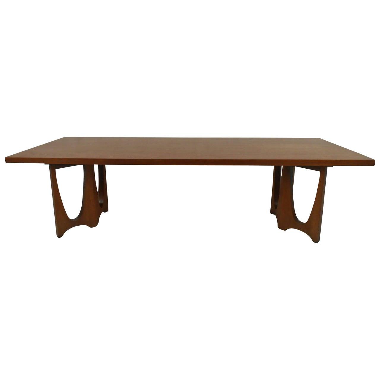Midcentury Walnut Coffee Table By The J.B. Van Sciver