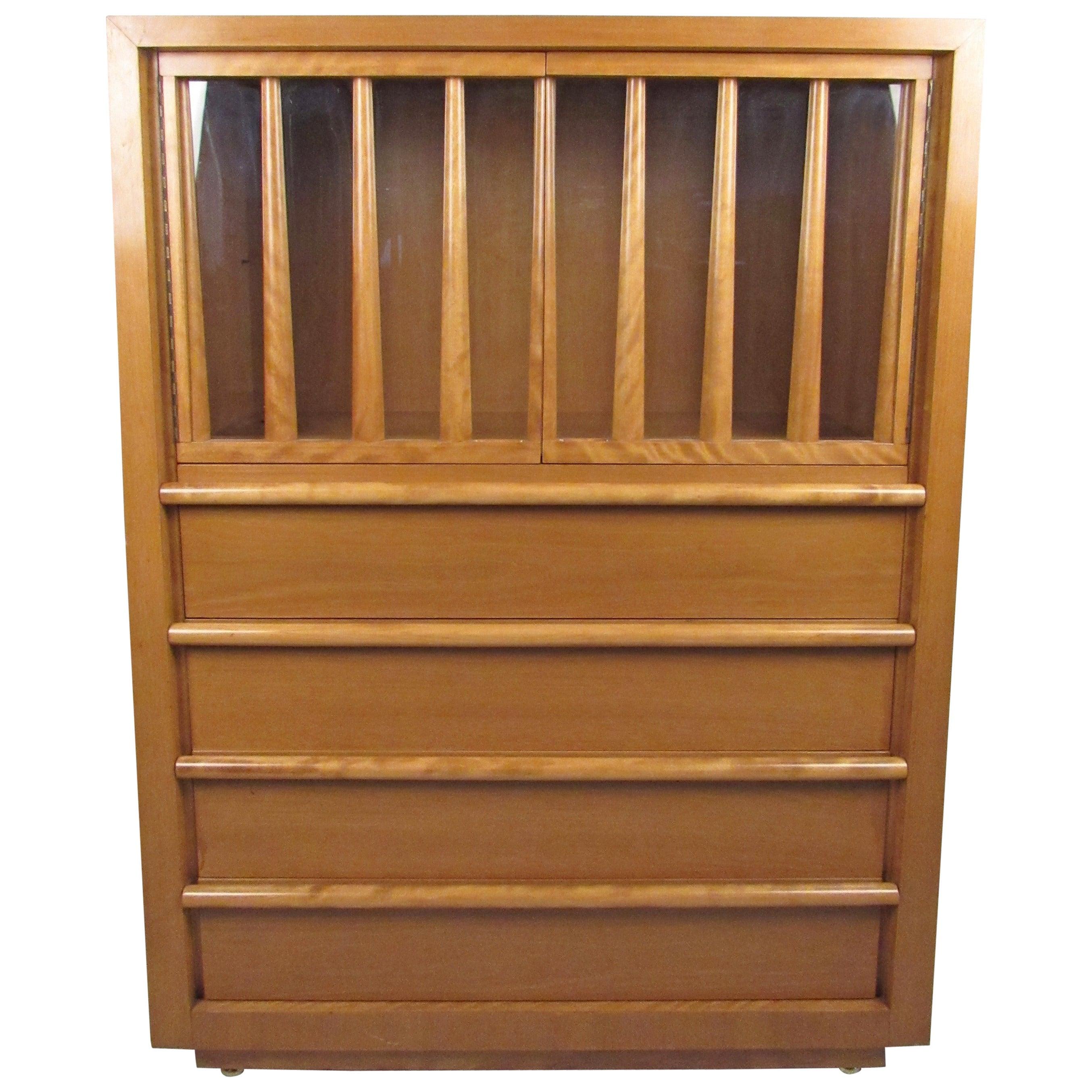 T.H. Robsjohn-Gibbings Tall Dresser for Widdicomb