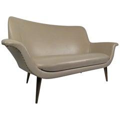 Italian Modern Sculptural Sofa
