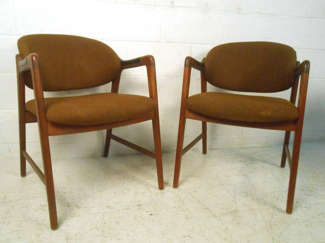 mid century modern teak dining set with westnofa chairs at 1stdibs
