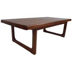 Danish Modern Coffee Table by Niels Bach