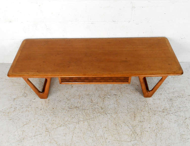 American Mid Century Modern Lane Perception Coffee Table For