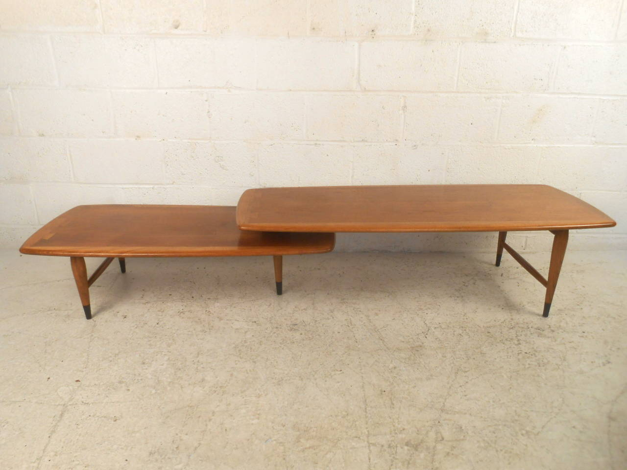 Mid-Century Modern Switchblade Coffee Table by Lane For Sale 1