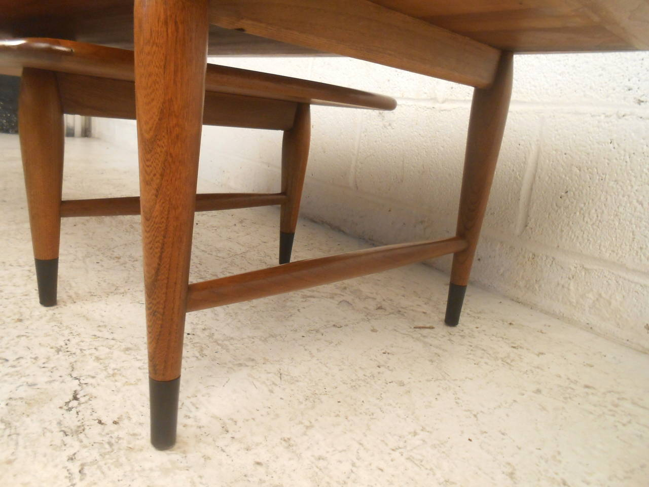 Mid-Century Modern Switchblade Coffee Table by Lane For Sale 5
