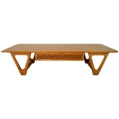 Mid-Century Modern Lane Perception Coffee Table