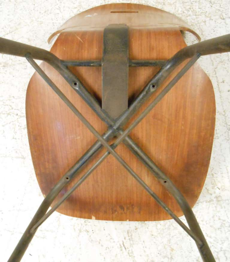 Late 20th Century Italian Modern Dining or Student Chairs For Sale