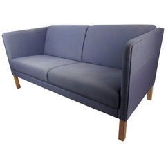 Danish Modern Sofa Loveseat