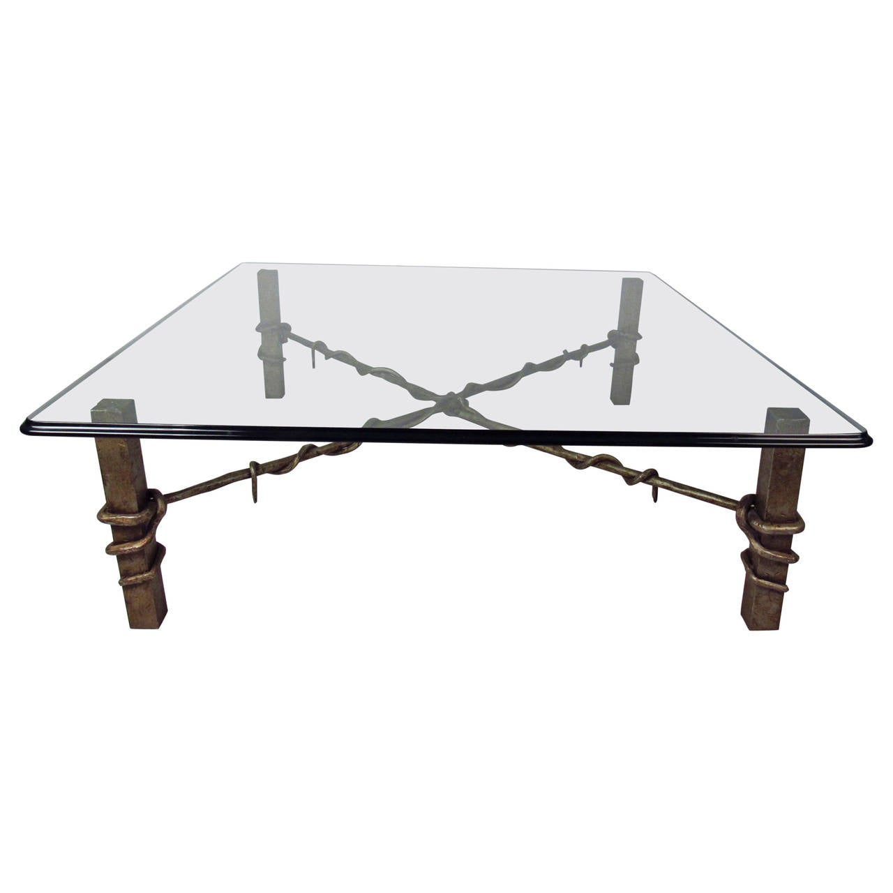 Industrial Style Coffee Table For Sale At 1stdibs