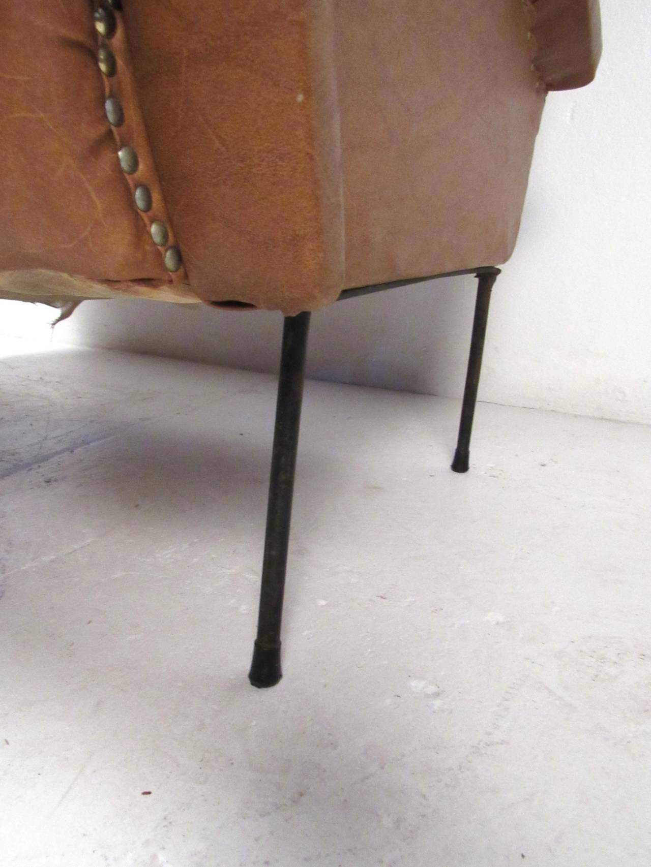 Italian Modern Two Seat Sofa For Sale 3