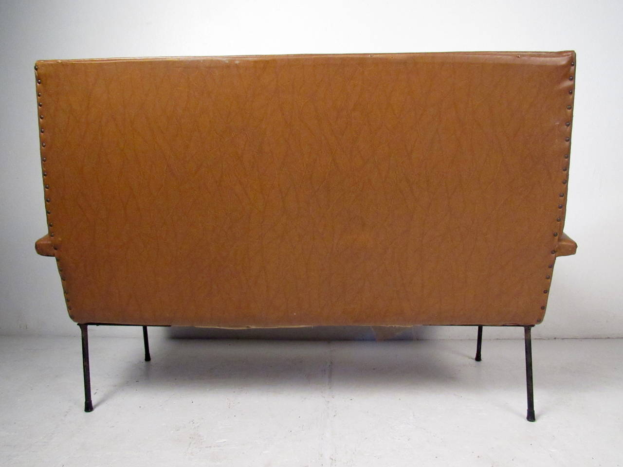 20th Century Italian Modern Two Seat Sofa For Sale