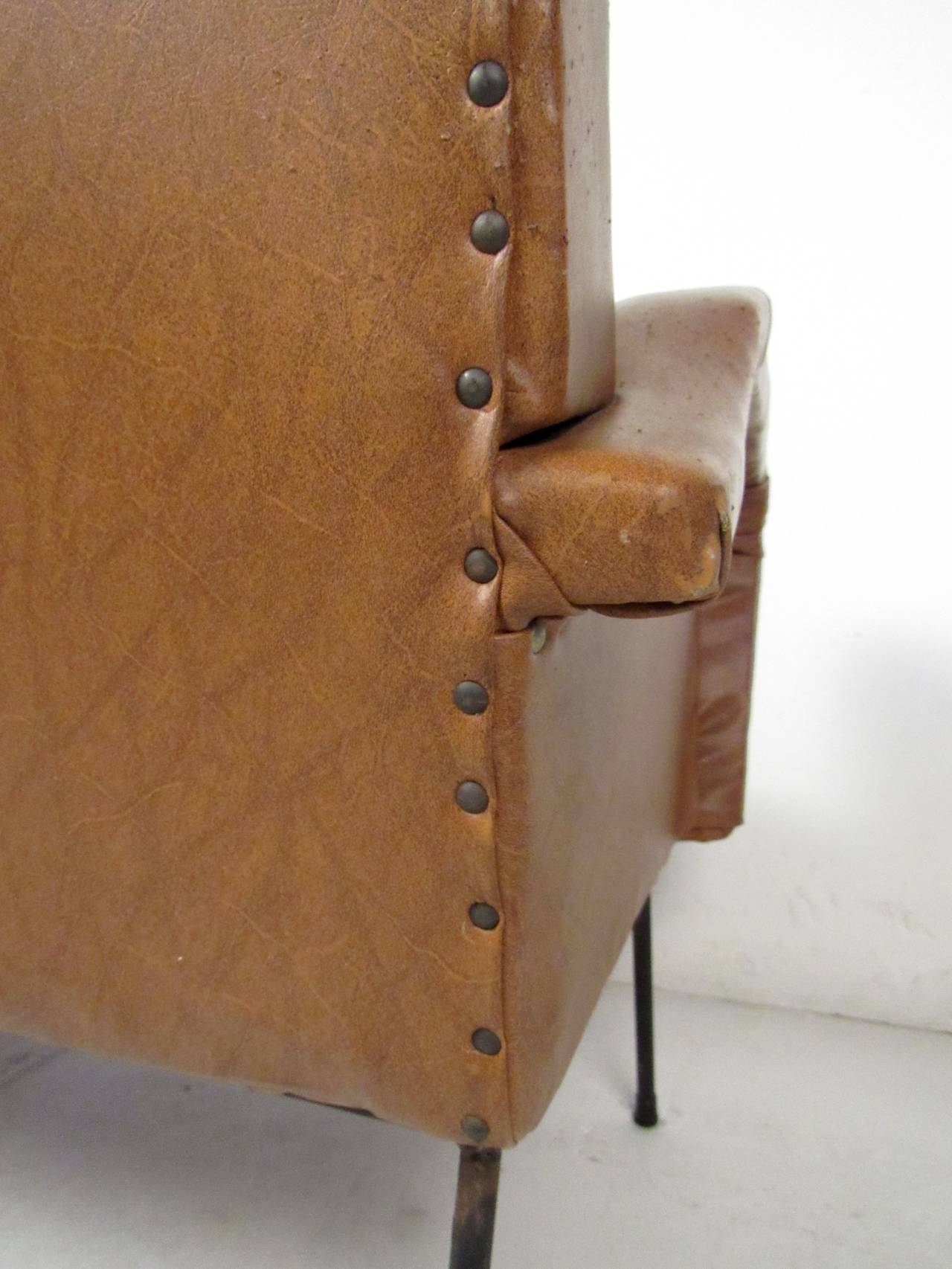 Italian Modern Two Seat Sofa For Sale 2