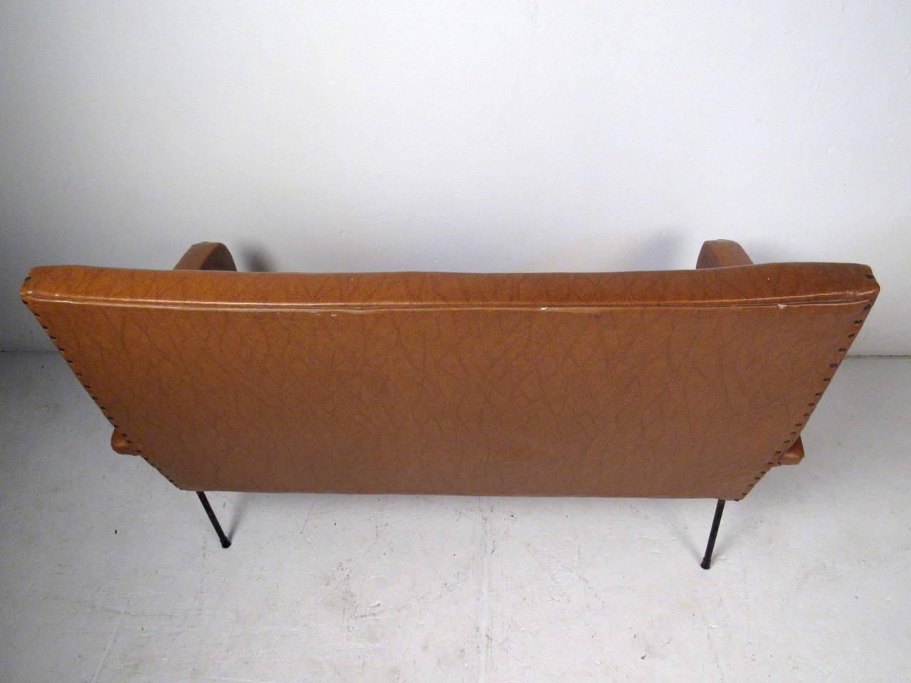 Italian Modern Two Seat Sofa For Sale 1