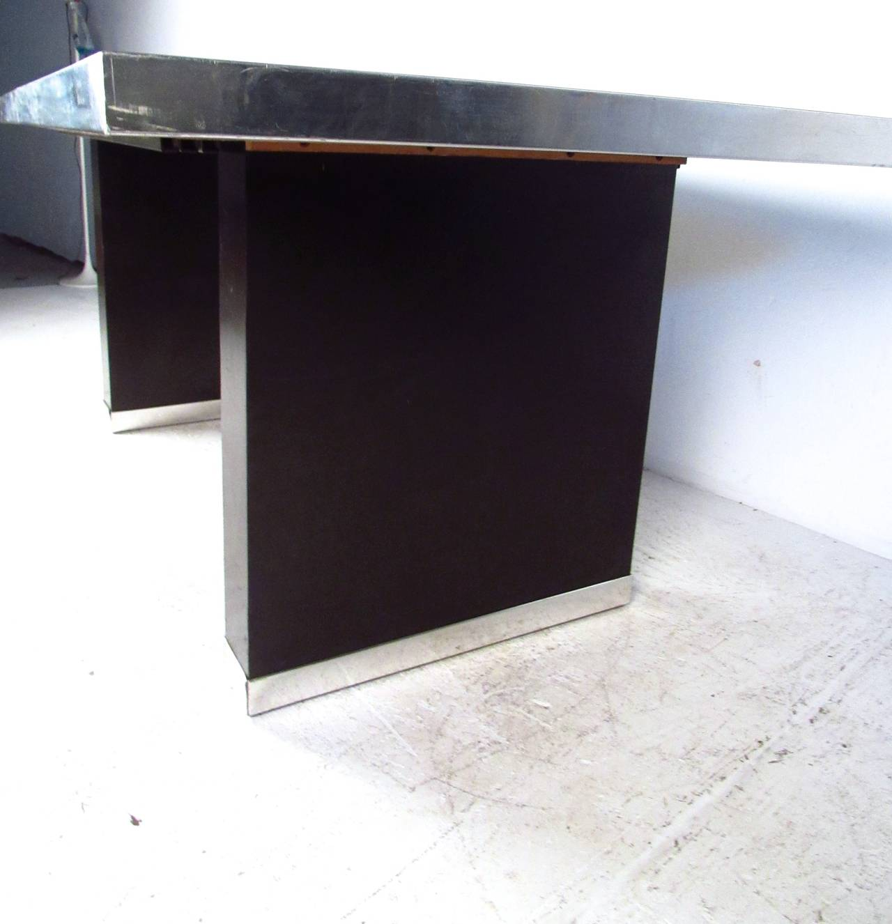 Pierre Cardin Signed Dining Table For Sale 1