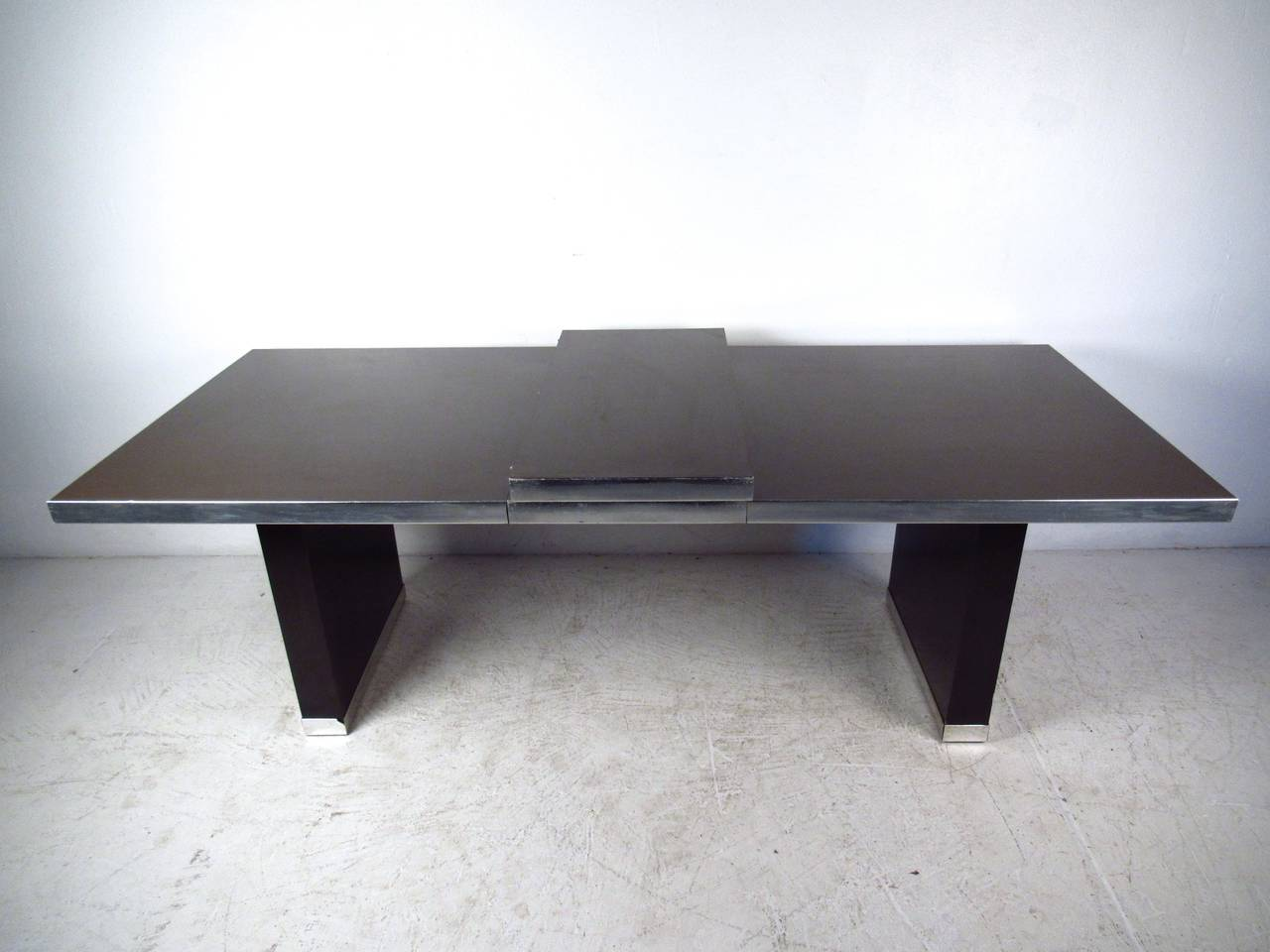 Modern Pierre Cardin Signed Dining Table For Sale