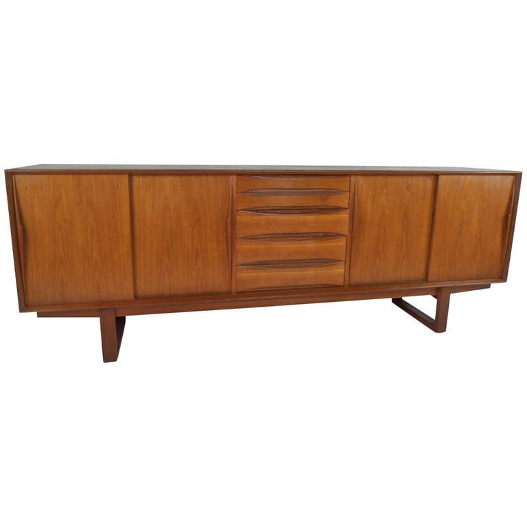 Arne Vodder Sled Leg Sideboard for Sibast