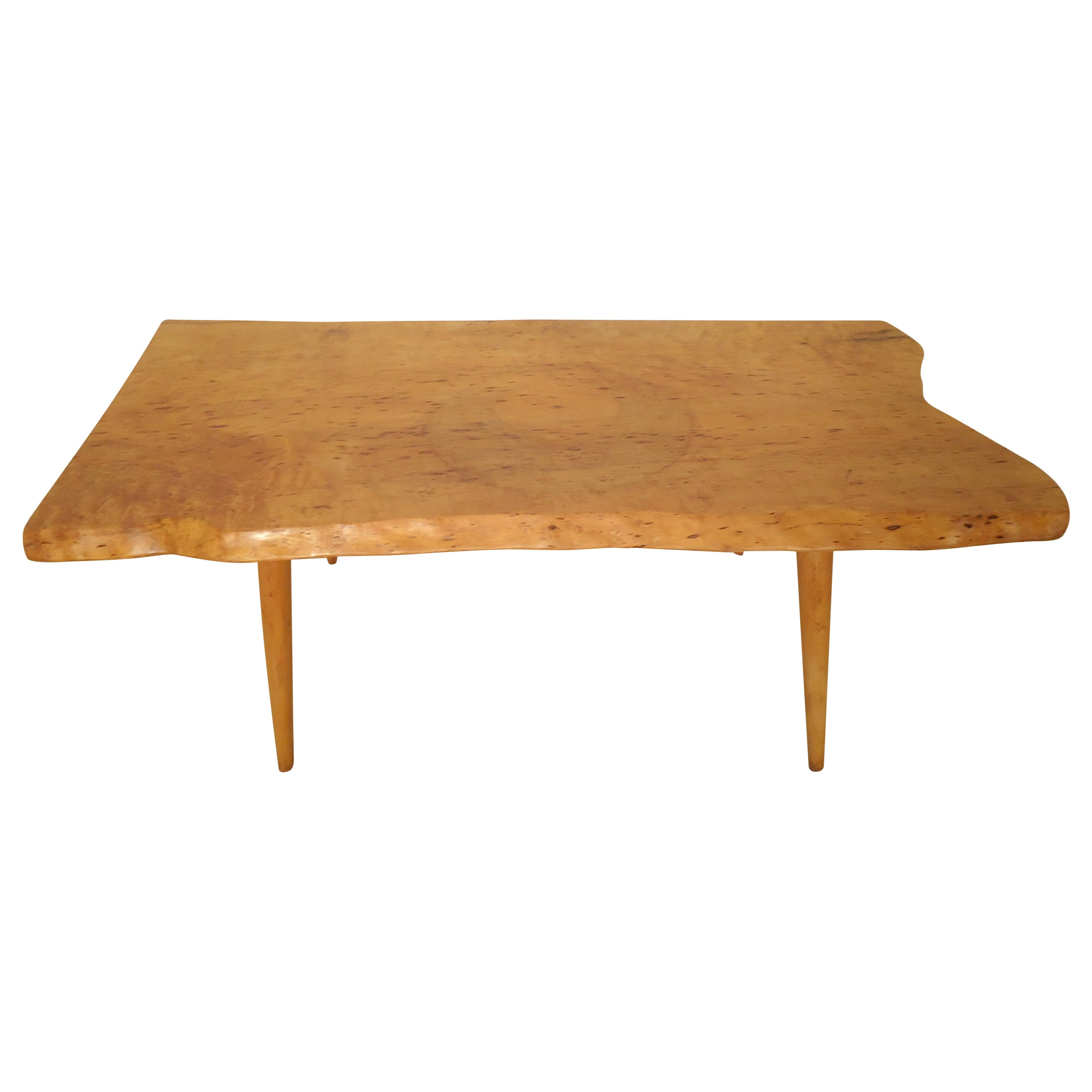 Petite Free Edge Side Table By Roy Sheldon For Sale At 1stdibs