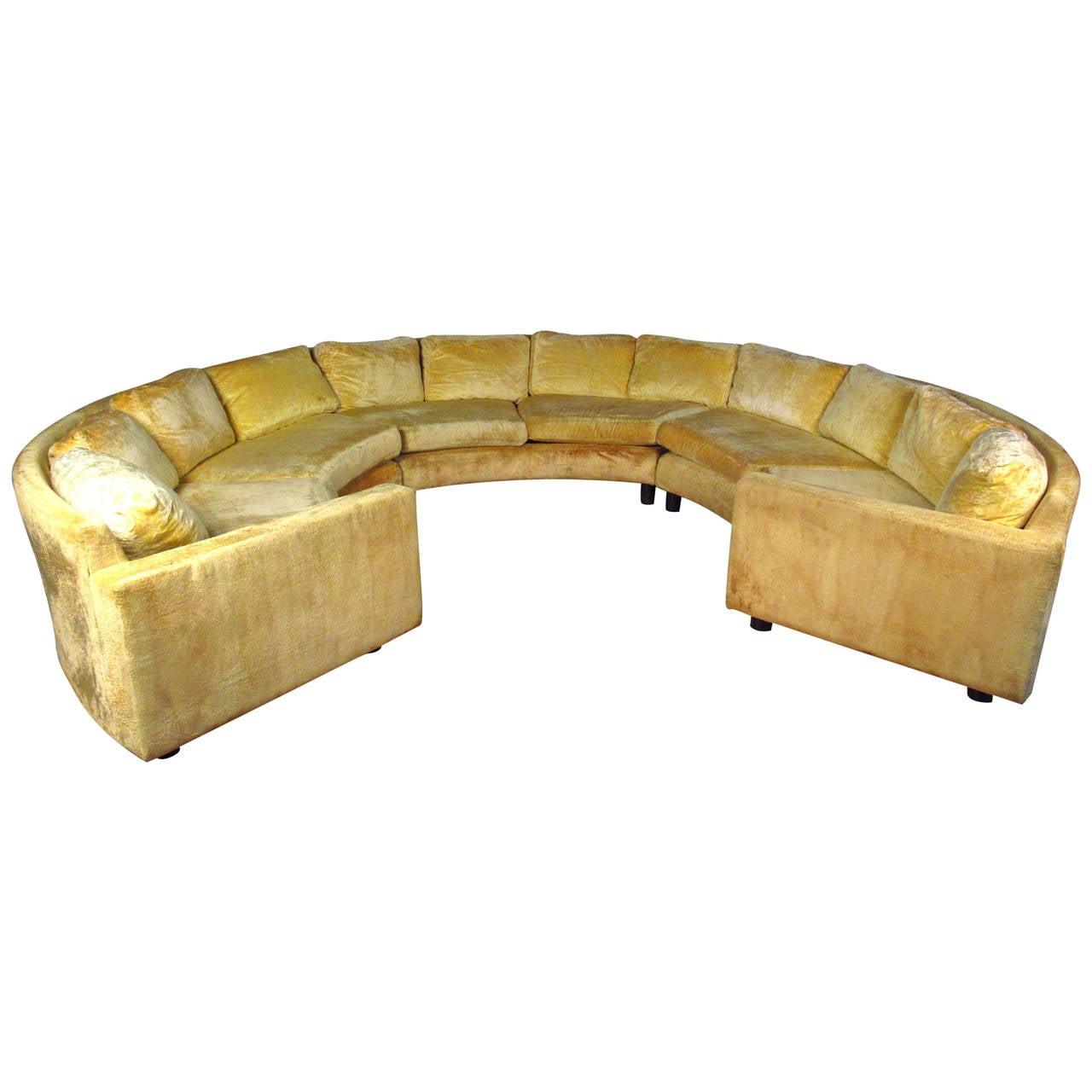 Milo Baughman Sectional Sofa At 1stdibs