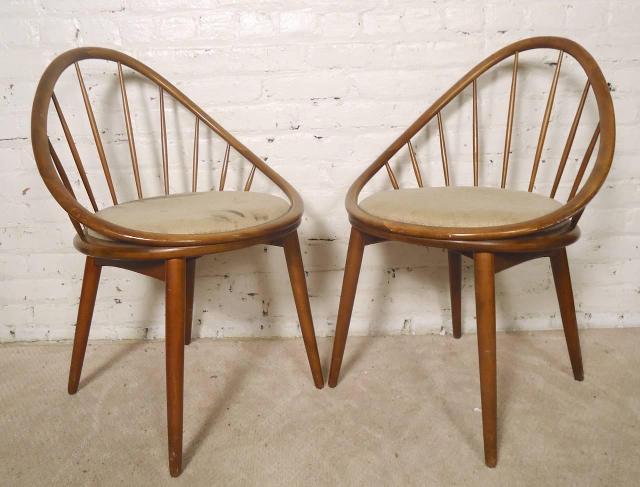 Kofod Larsen Style Hoop Chairs 2