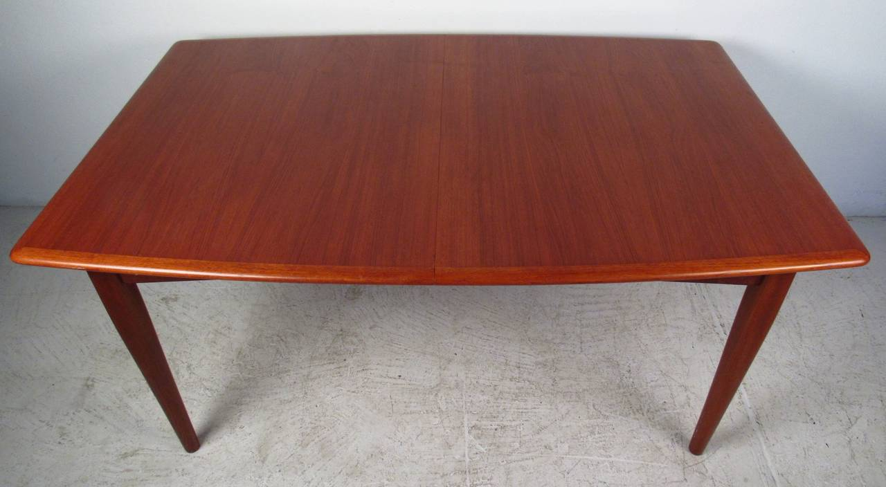this danish modern butterfly leaf dining table is no longer available