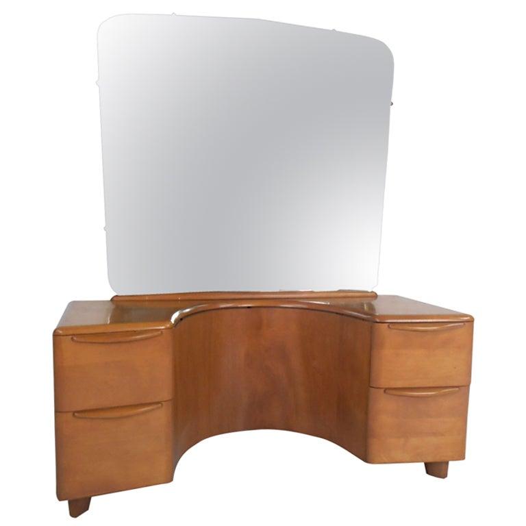 Heywood Wakefield Mirrored Vanity