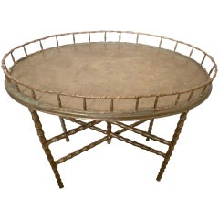 Hand Crafted Oriental Brass Table