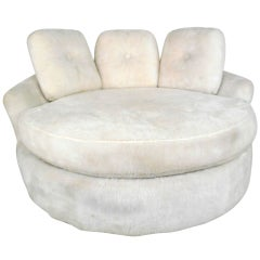 Adrian Pearsall Style Disc Lounge Chair