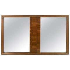 Large Brutalist Mirror