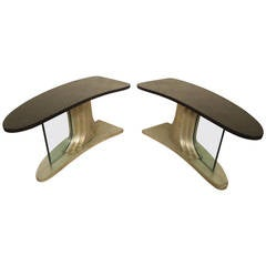 Deco Style Side Tables