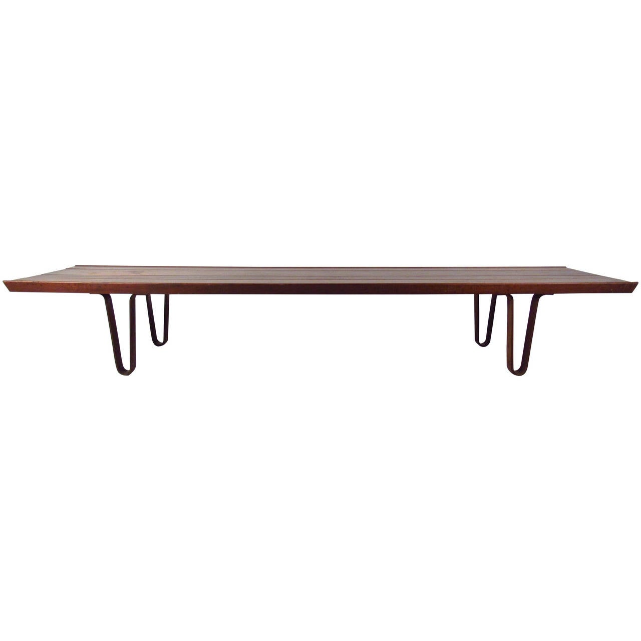 Wormley Coffee Table With Bentwood Legs For Sale At 1stdibs