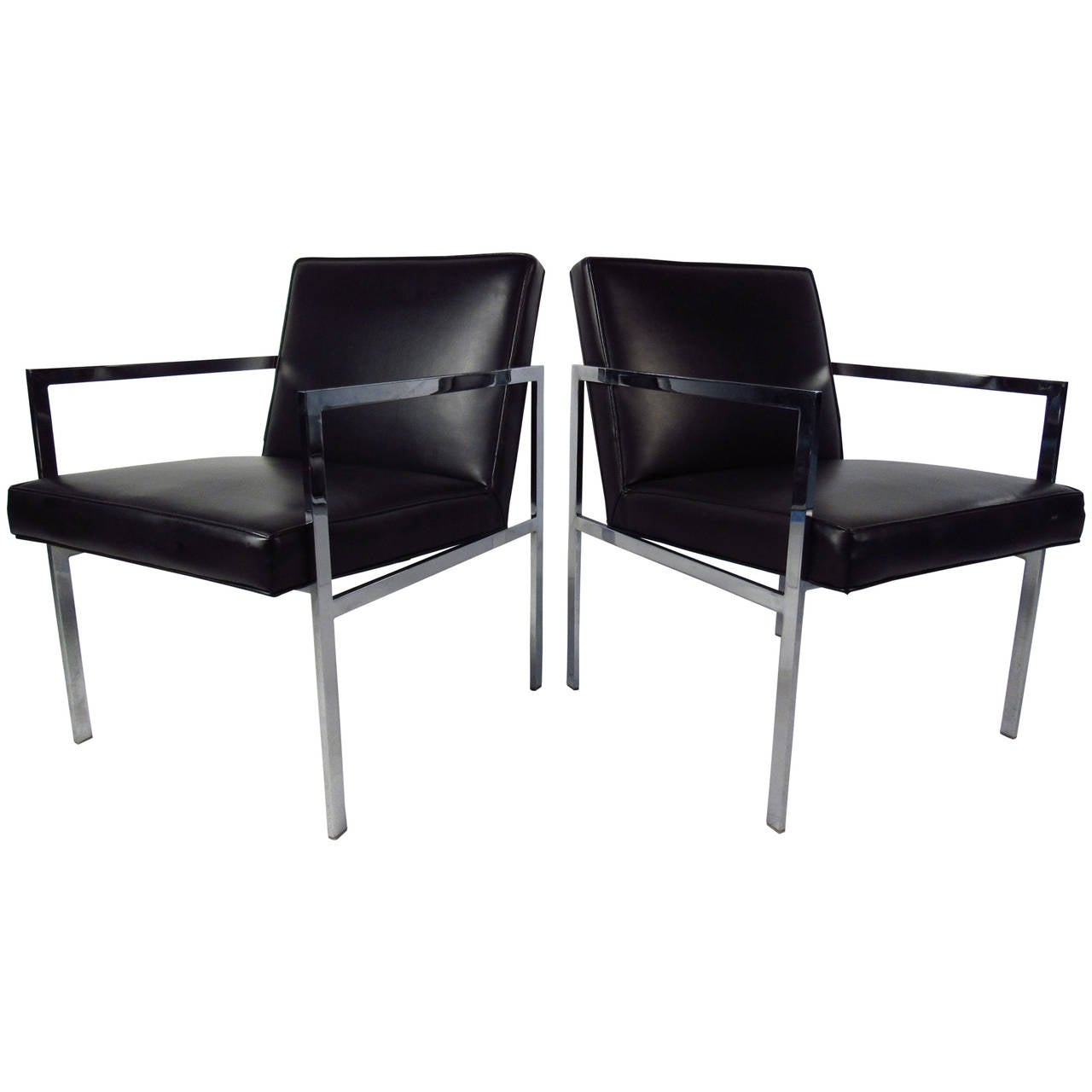 Mid Century Side Chairs By Patrician Furniture Co. For Sale