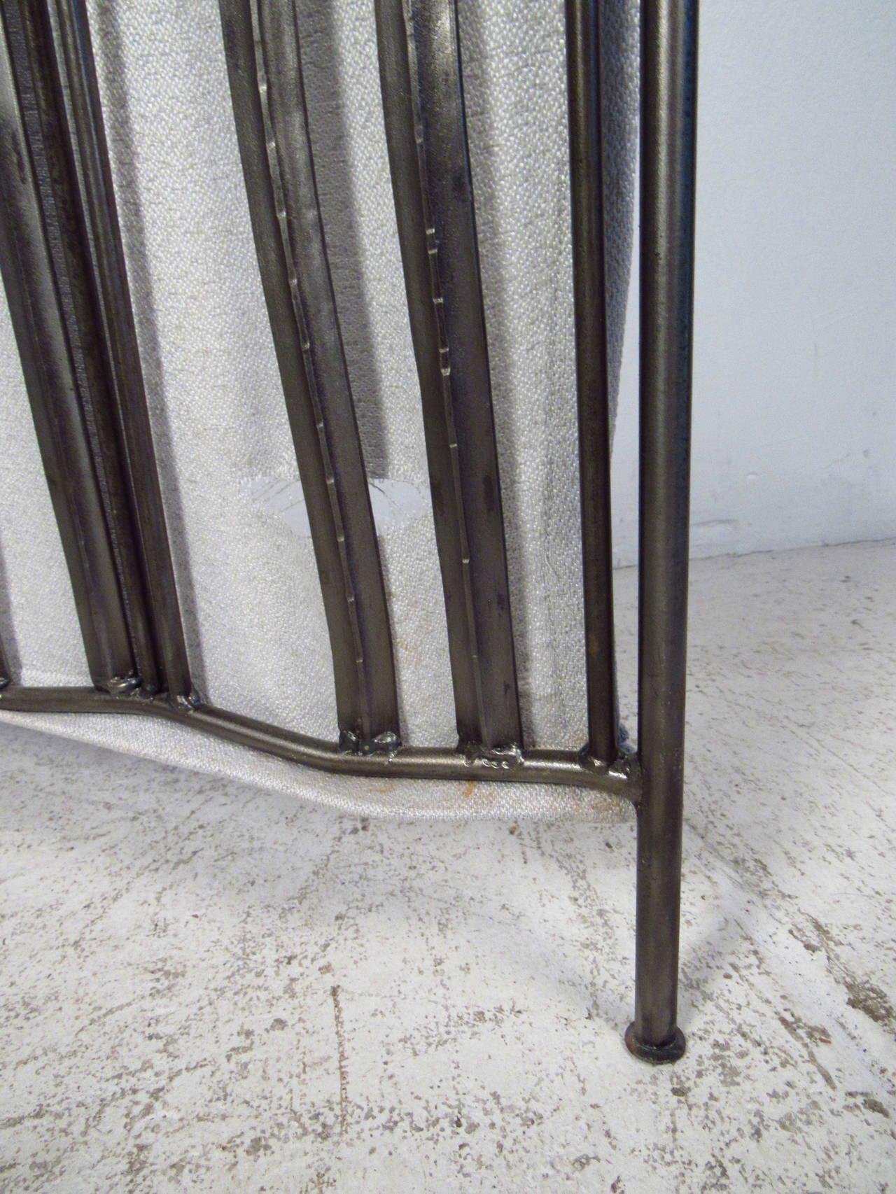 Three-Panel Metal Screen For Sale 1